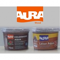 Новинка! Aura Color Wood Aqua. Aura Lasur Aqua